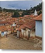 forgotten village Totora Metal Print