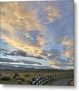 Fort Collins Sunset Metal Print