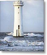 Fort Perch Lighthouse Metal Print