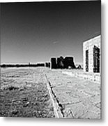 Fort Union Jail Metal Print