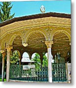 Fountain For Doing Ablutions In Konya-turkey  Metal Print