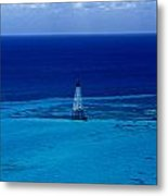 Fowery Rocks Lighthouse Metal Print