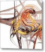 Fractal 066 Metal Print