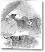 France Mont Blanc, 1851 Metal Print