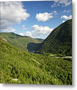 Franconia Notch State Park - White Mountains New Hampshire Usa  Metal Print