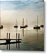Frankfort Morning Mist Metal Print