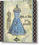 French Dress Shop-b1 Metal Print
