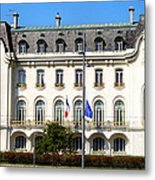 French Embassy In Vienna Metal Print