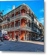 French Quarter Afternoon Metal Print