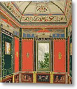 Fresco Decoration In The Summer House Metal Print