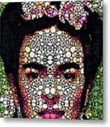 Frida Kahlo Art - Define Beauty Metal Print