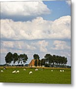 Friesland Metal Print by Frits Selier