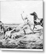 Frontiersman, 1858 Metal Print