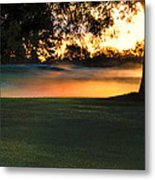 Frost On The West Course Metal Print