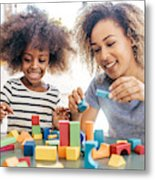 Fun activities for 3 years old Metal Print