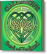 Gallagher Soul Of Ireland Metal Print
