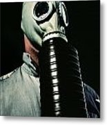 Gas And Darkness Metal Print