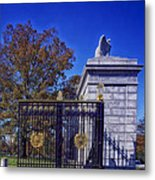 Gate To Arlington Cemetery Metal Print