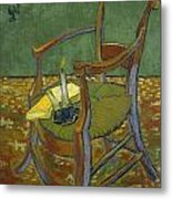 Gauguin's Chair Metal Print