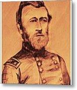 General Us Grant Metal Print