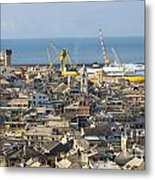 Genova. The Old Town  Metal Print