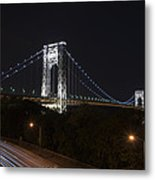 George Washington Bridge - Memorial Day 2013 Metal Print