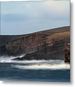 Georges Head Kilkee Metal Print by Peter Skelton