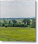 Gettysburg Battlefield Metal Print