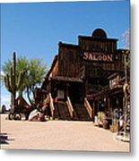 Ghost Town Saloon Metal Print