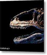 Giganotosaurus Skull 3 Metal Print