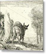Giovanni Domenico Tiepolo Italian, 1727 - 1804. The Flight Metal Print