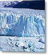 Glacier, Moreno Glacier, Argentine Metal Print