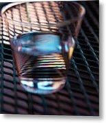 Glass Half Full Metal Print