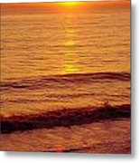 Golden - Sunrise Metal Print