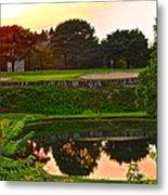 Golf Course Beauty Metal Print