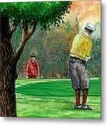 Golf Outing Metal Print