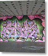 Graffiti Southbank Metal Print by Maeve O Connell