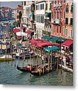 Grand Canal In Venice Metal Print