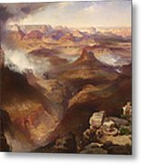 Grand Canyon Of The Colorado River Metal Print