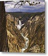 Grand Canyon Of The Yellowstone Metal Print