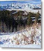 Grand Teton Landscape Metal Print