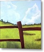 Grass Is Greener Metal Print