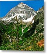 Great Glacier Trail In Glacier Np-british Columbia Metal Print