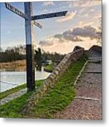 Great Haywood Junction Metal Print