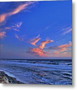 Great Highway Sunset Metal Print
