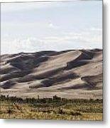 1 Great Sand Dunes Panorama Metal Print
