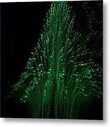 Green Tree 2 Metal Print by Jeffrey J Nagy
