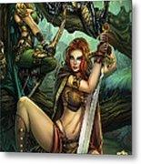 Grimm Fairy Tales Presents Black Diamond Exclusives Metal Print