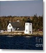 Grindel Point Lighthouse Metal Print