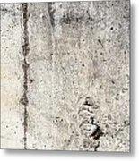 Grunge Concrete Texture Metal Print